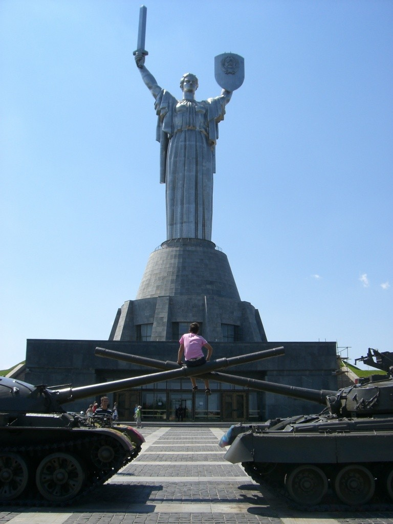 Rodina Mat, Mother Motherland, Kiev, Ukraine