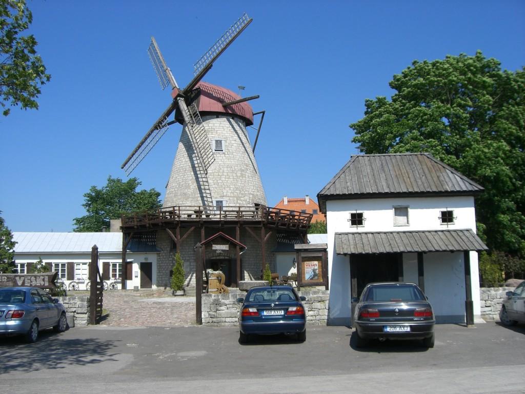 Windmill, Kuressaare, Estonia