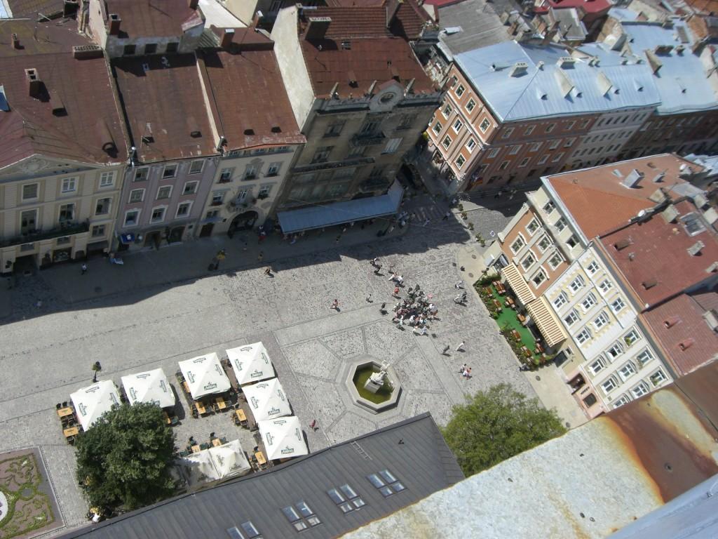 Lviv main square, Lviv, Ukraine