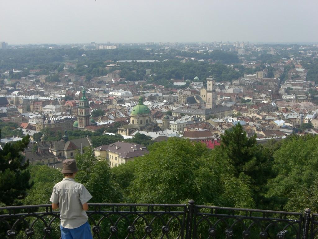 Lviv skyline, Ukraine