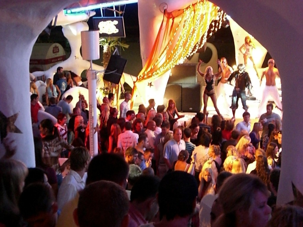 Odessa nightclub, Ukraine.