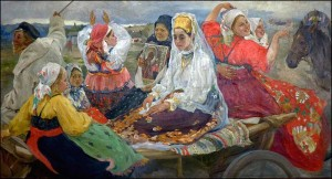 Bridal Train painting, 1912