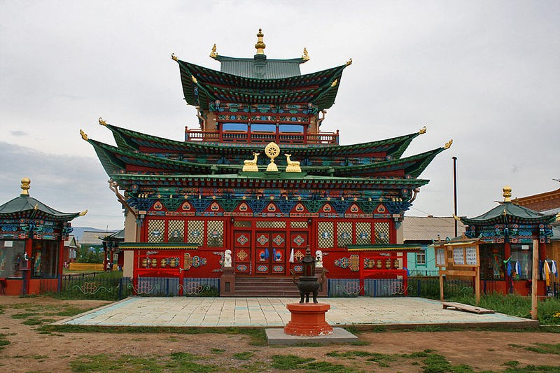 Ivolga Datsan, Ulan Ude, Russia