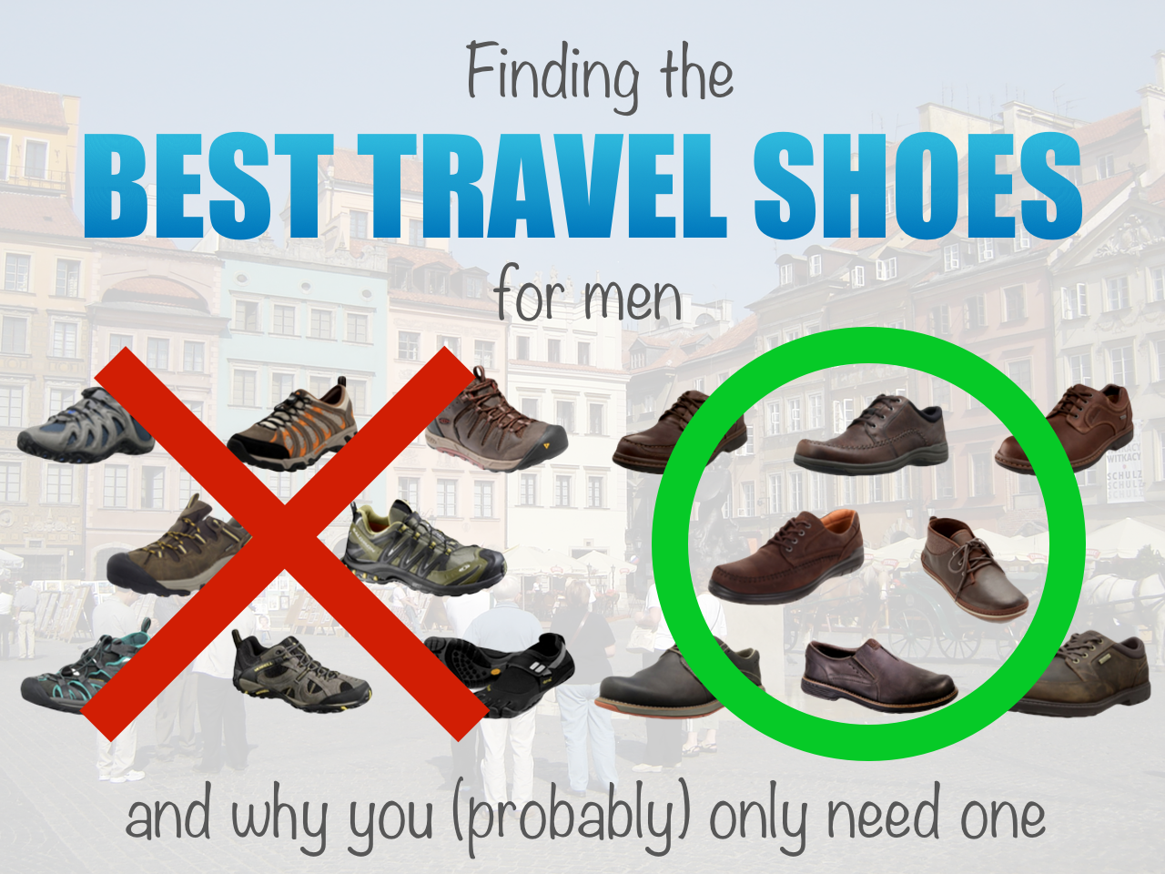 Finding the best travel shoes for men