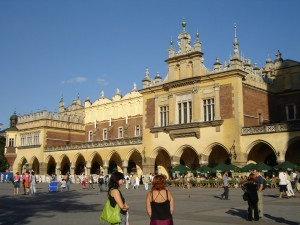 Sukiennice, Cloth Hall, Krakow, Poland
