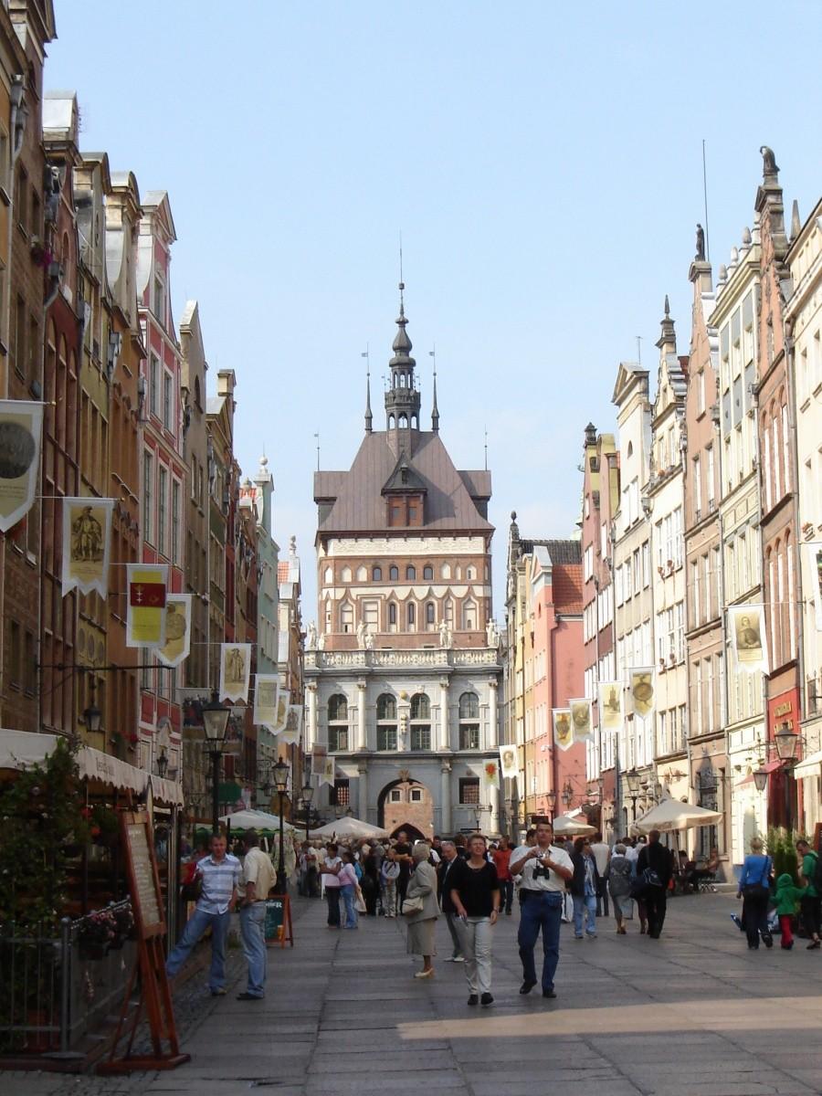 Gdańsk old town, Poland