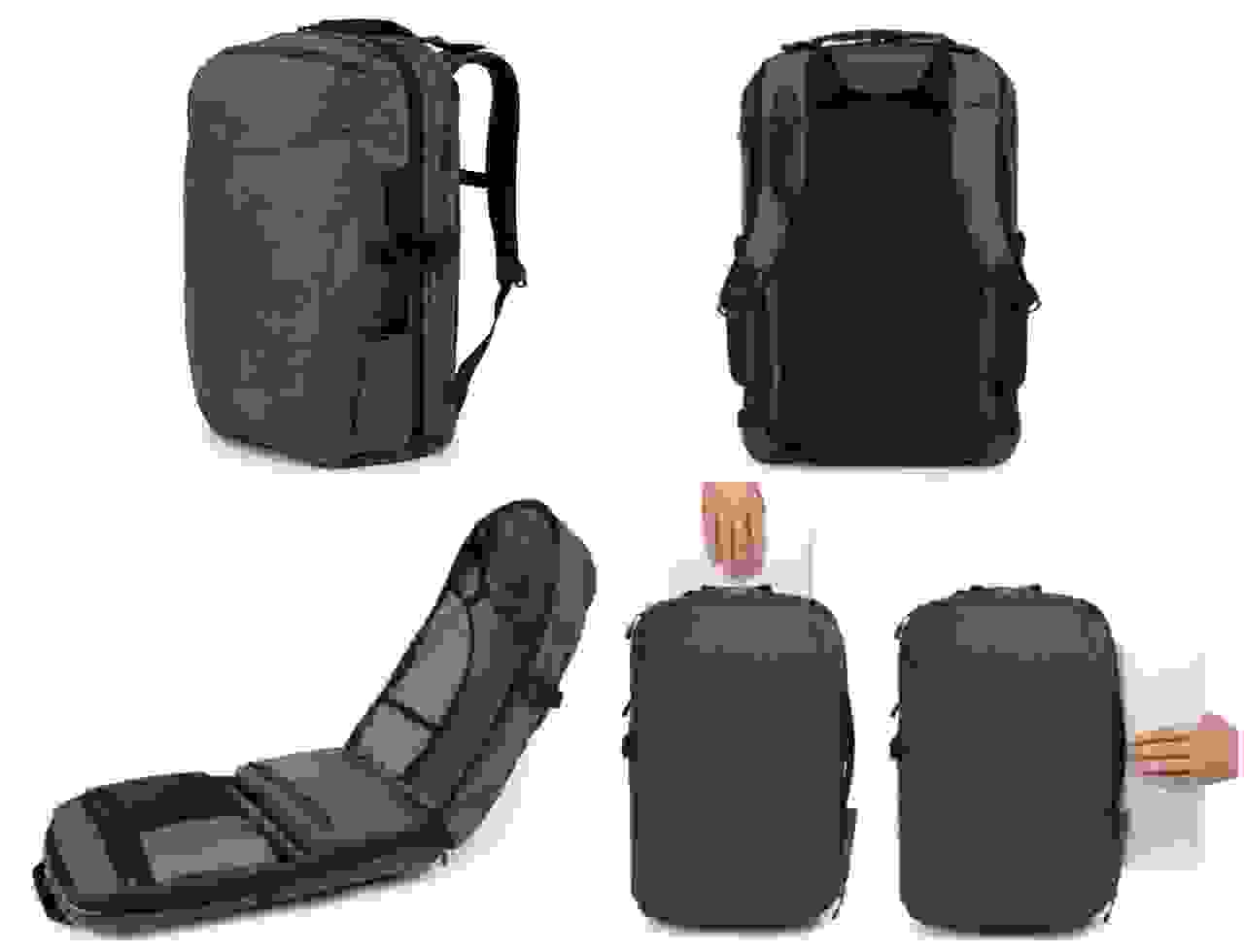 Minaal Backpack multi-view