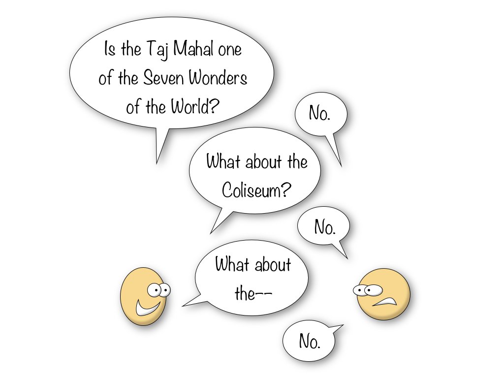Seven Wonders of the World discussion