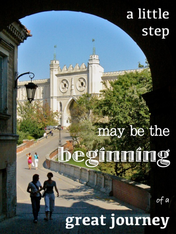 Travel quotes, little step, great journey