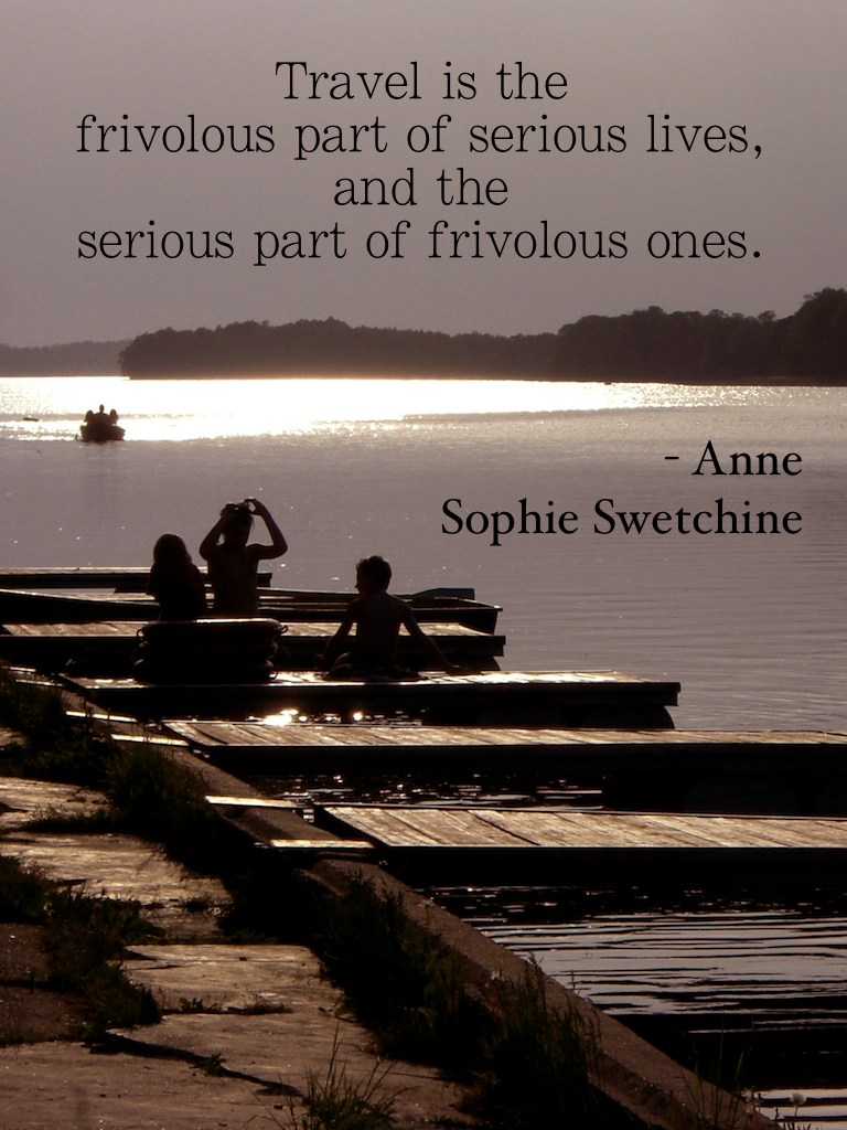 Travel quotes Anne Sophie Swetchine