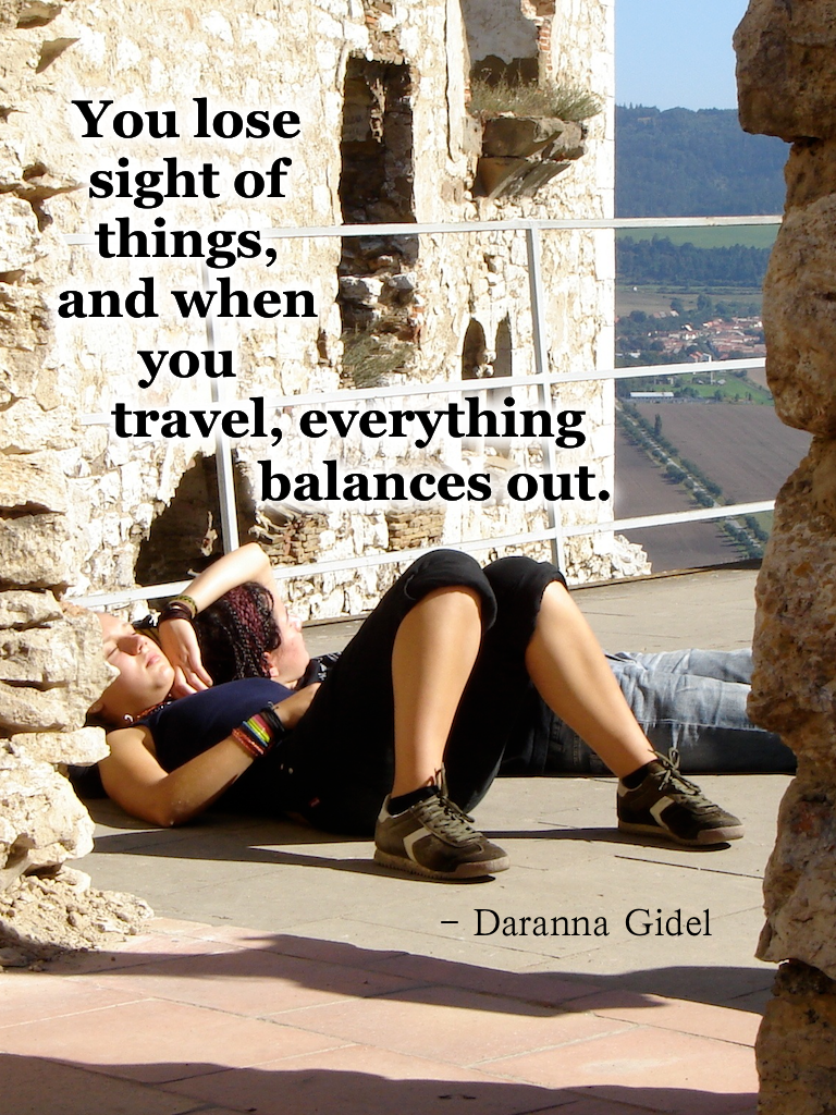 Travel quotes, Daranna Gidel
