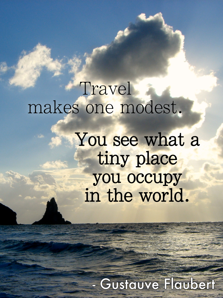 Travel quotes, Gustave Flaubert