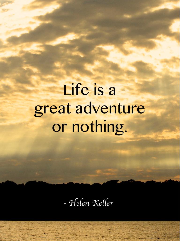 Travel quotes, Helen Keller