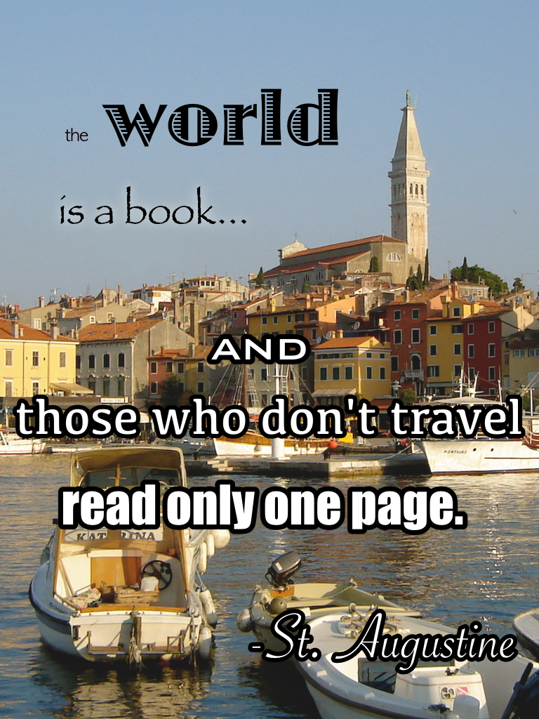 Travel quotes St. Augustine