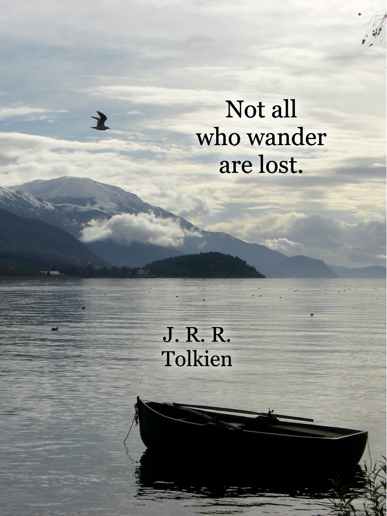 Travel quotes, J. R. R. Tolkien