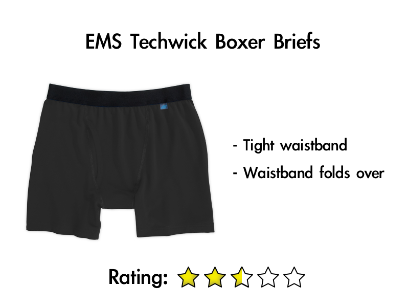 EMS Techwick Boxer Briefs