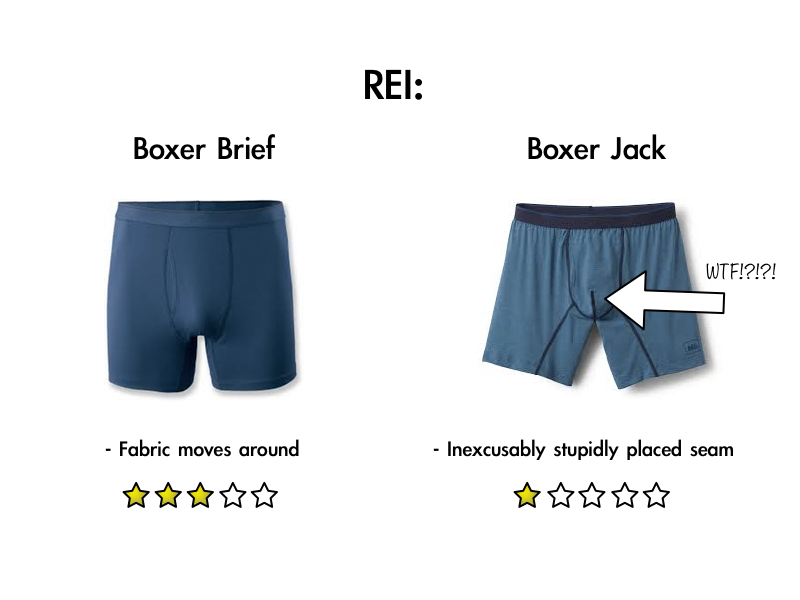 REI Boxer Brief reviews