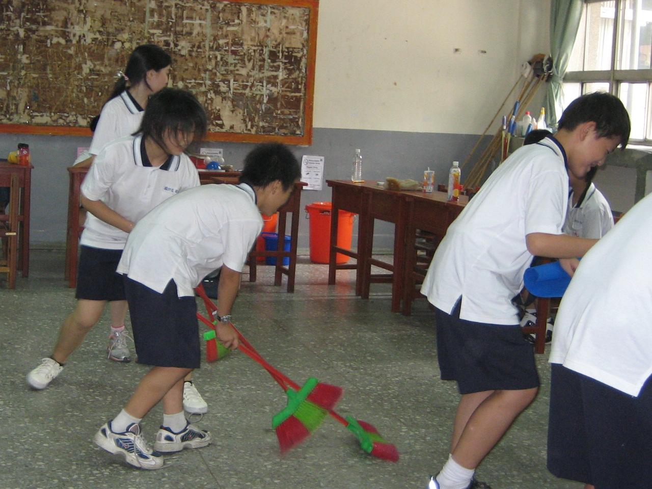 Classroom hockey Taiwan