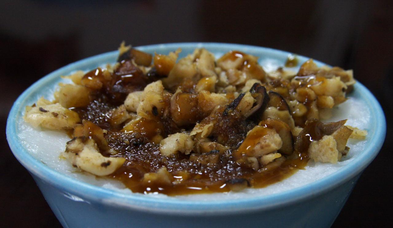 Taiwanese rice bowl