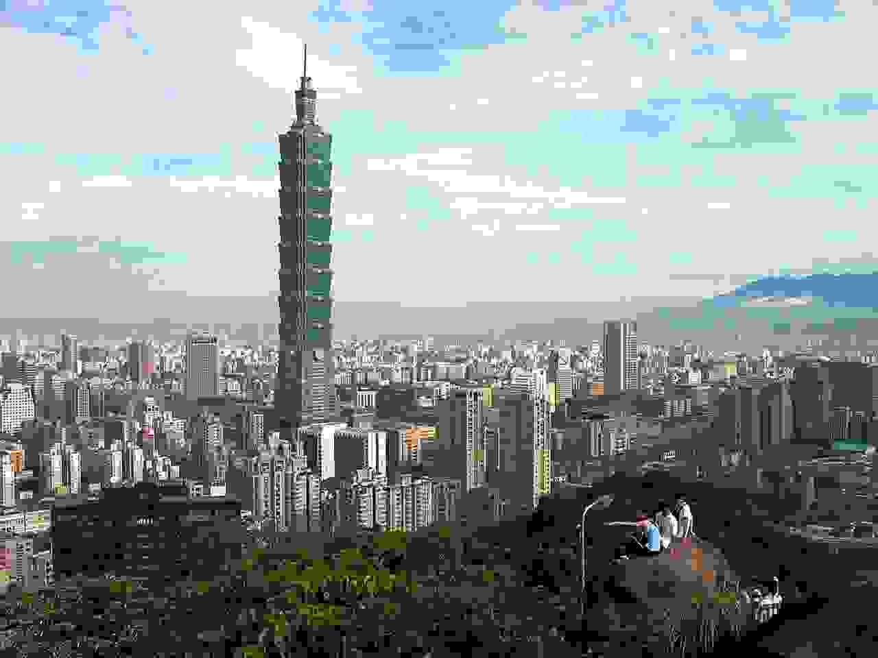 Taipei 101 from afar