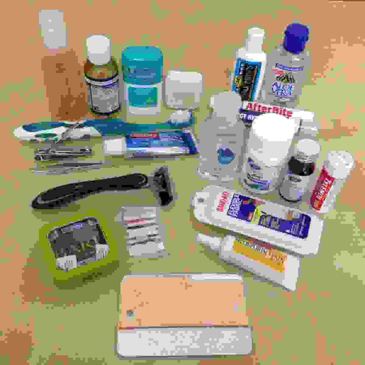 RTW Toiletries List