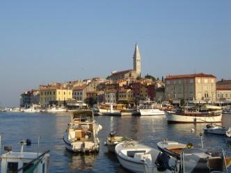 Rovinj waterfront, Croatia