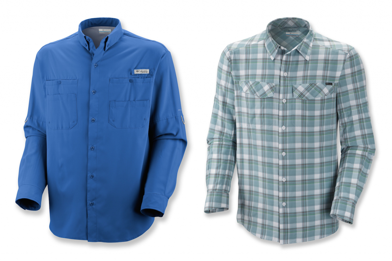 Columbia Tamiami vs Silver Ridge Plaid