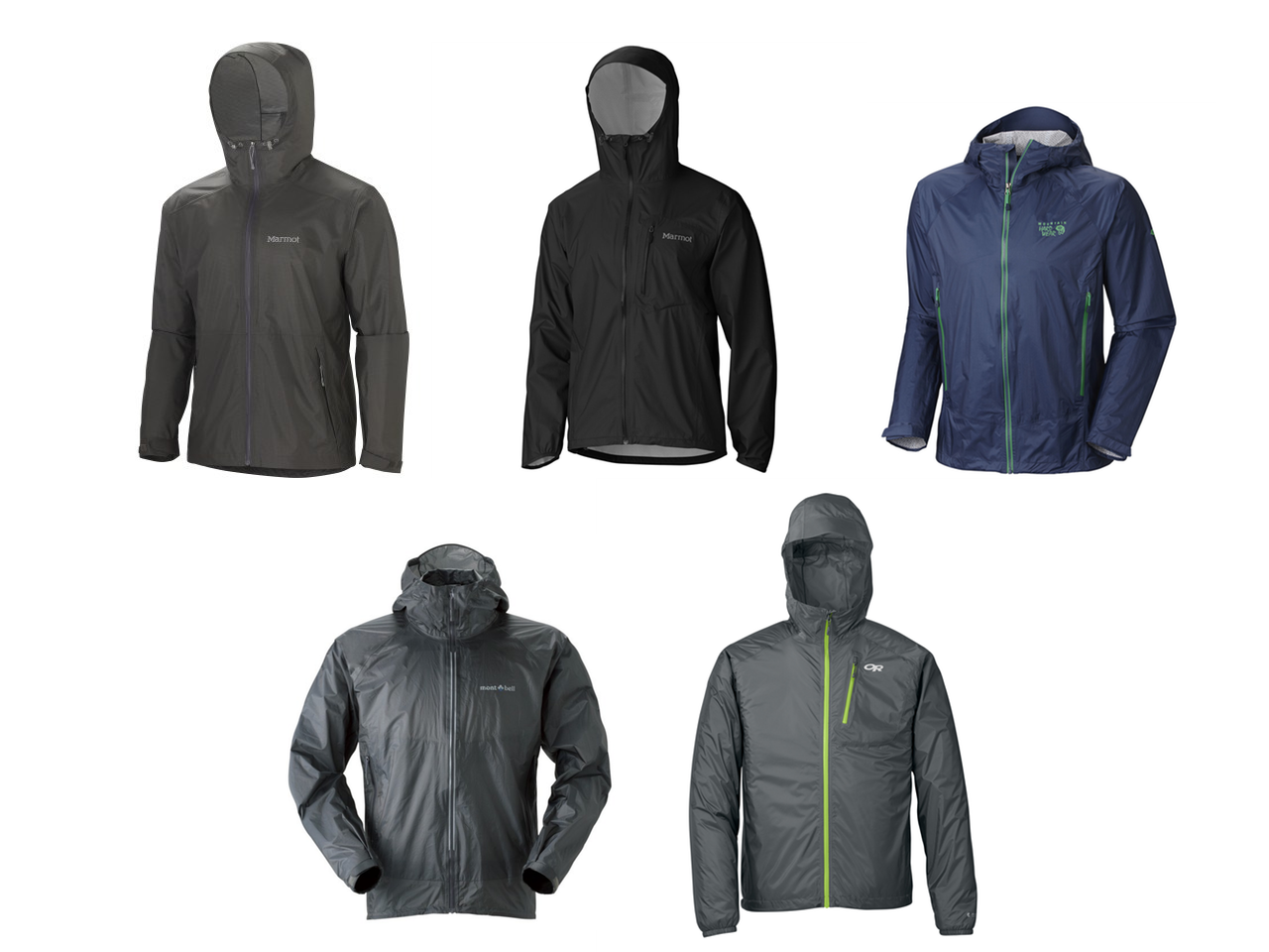 Lightweight Packable Rain Jackets Each Of These Weighs About As Much A T Shirt Maybe Two At Most
