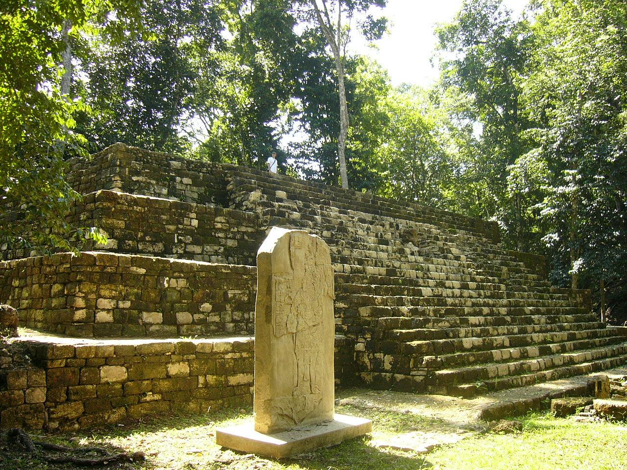Aguateca ruins