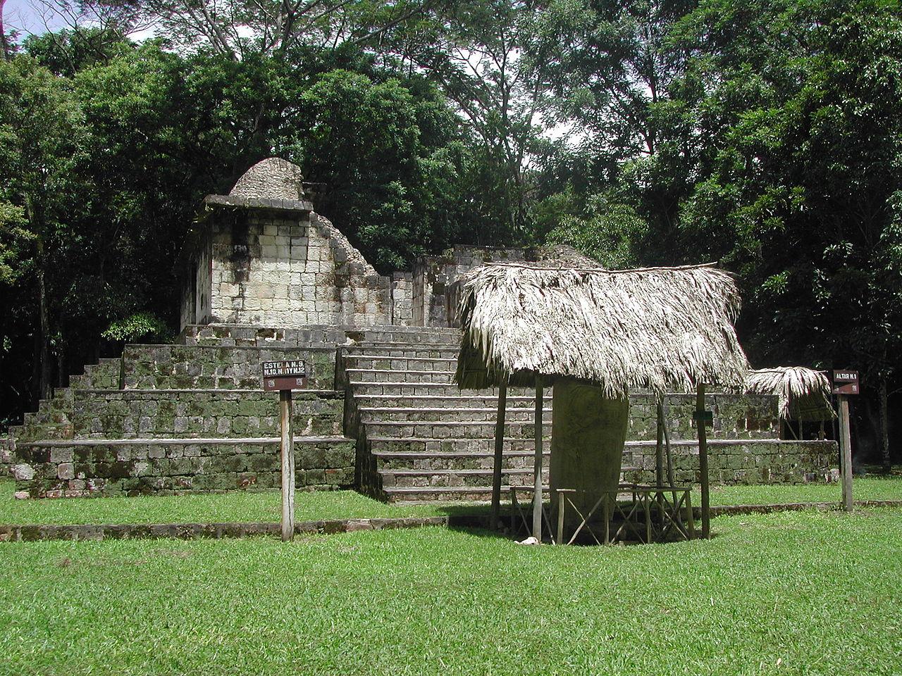 Ceibal ruins