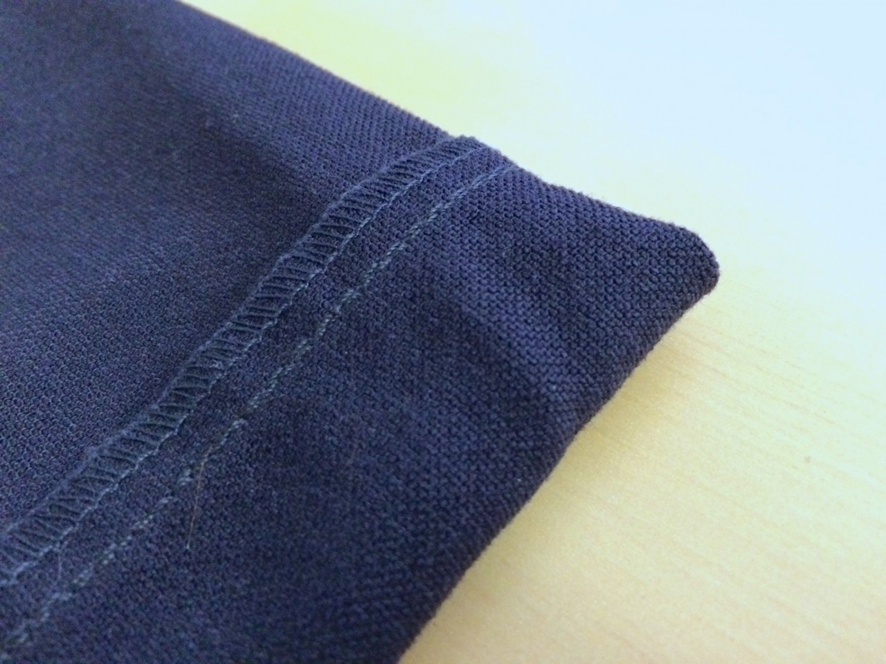 Slim Dungarees interior fabric close up