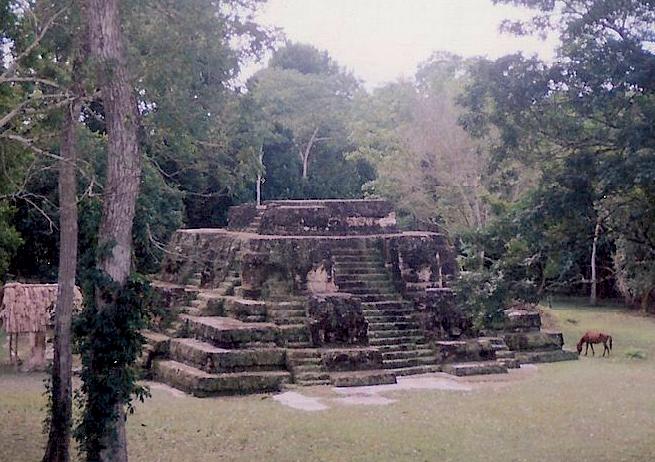 Uaxactun structure