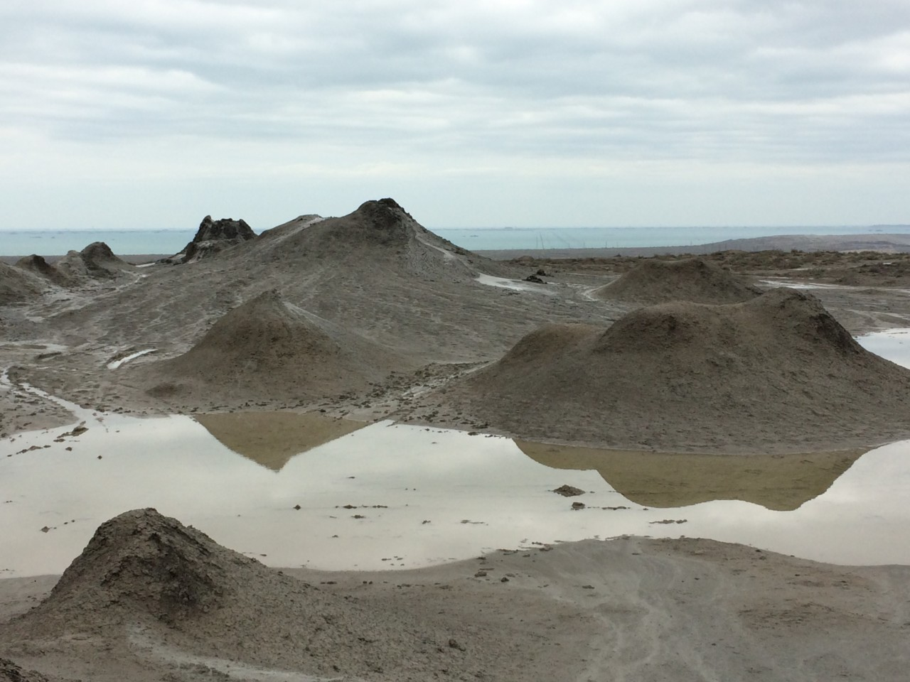 More mud volcanoes