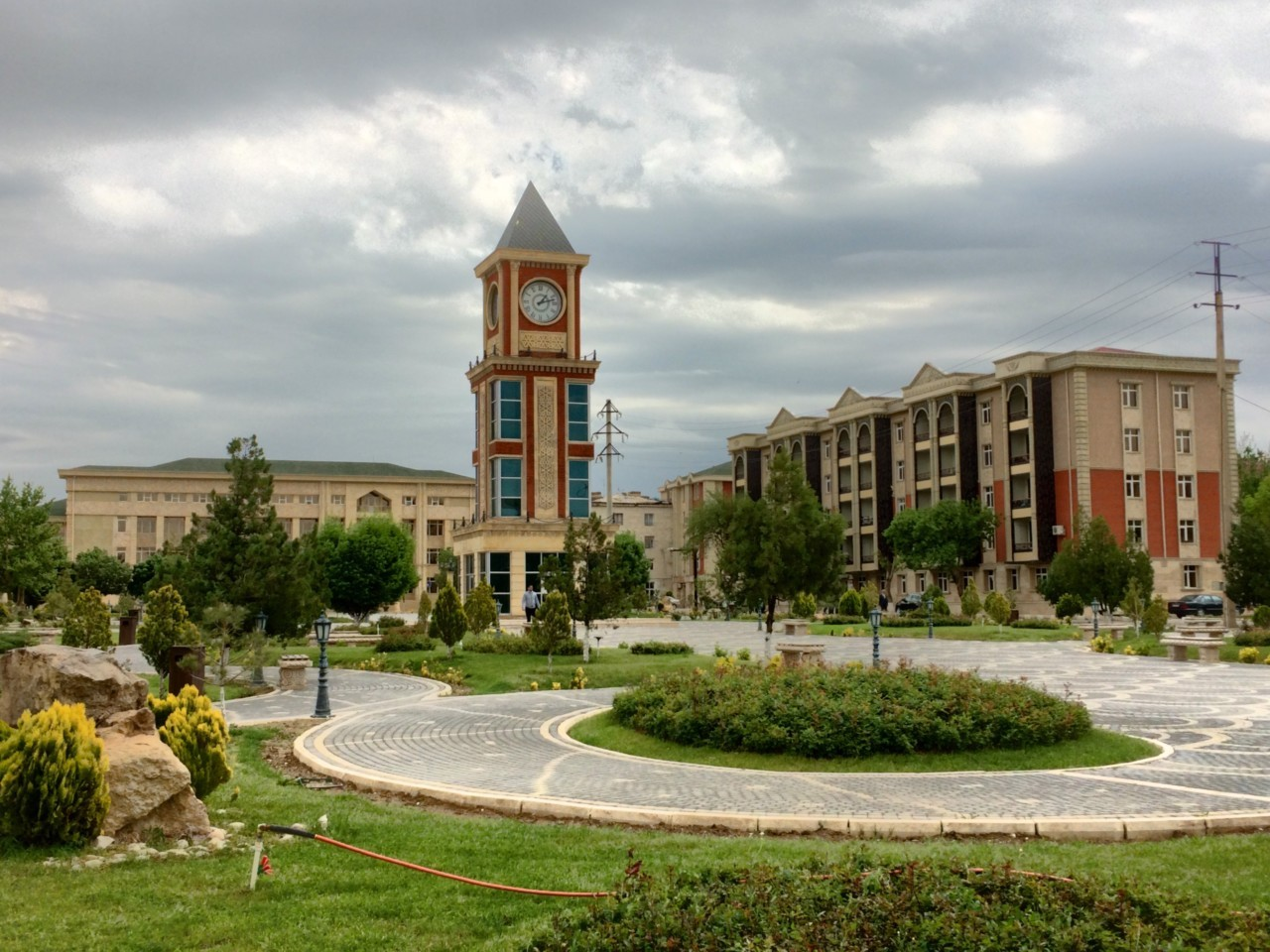 Nakhchivan town square