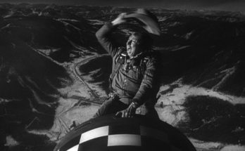 Slim Pickens riding the bomb from Dr Strangelove