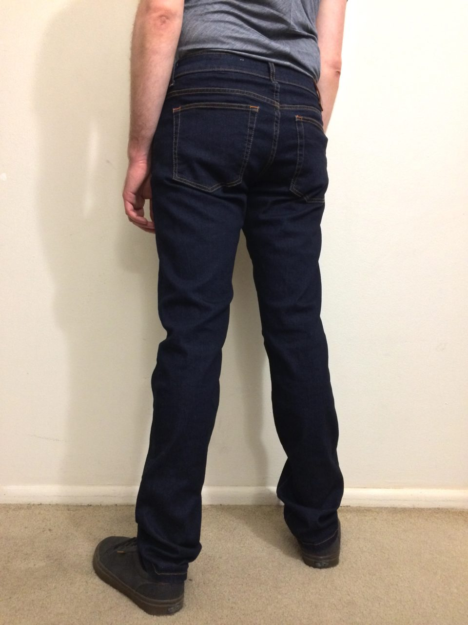 Aviator USA Jeans back view