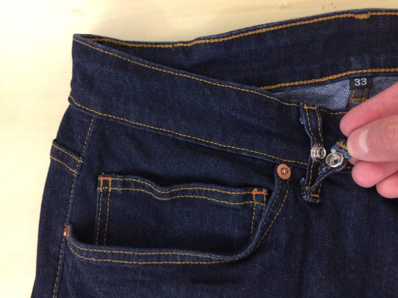 Aviator USA Jeans clip attachment
