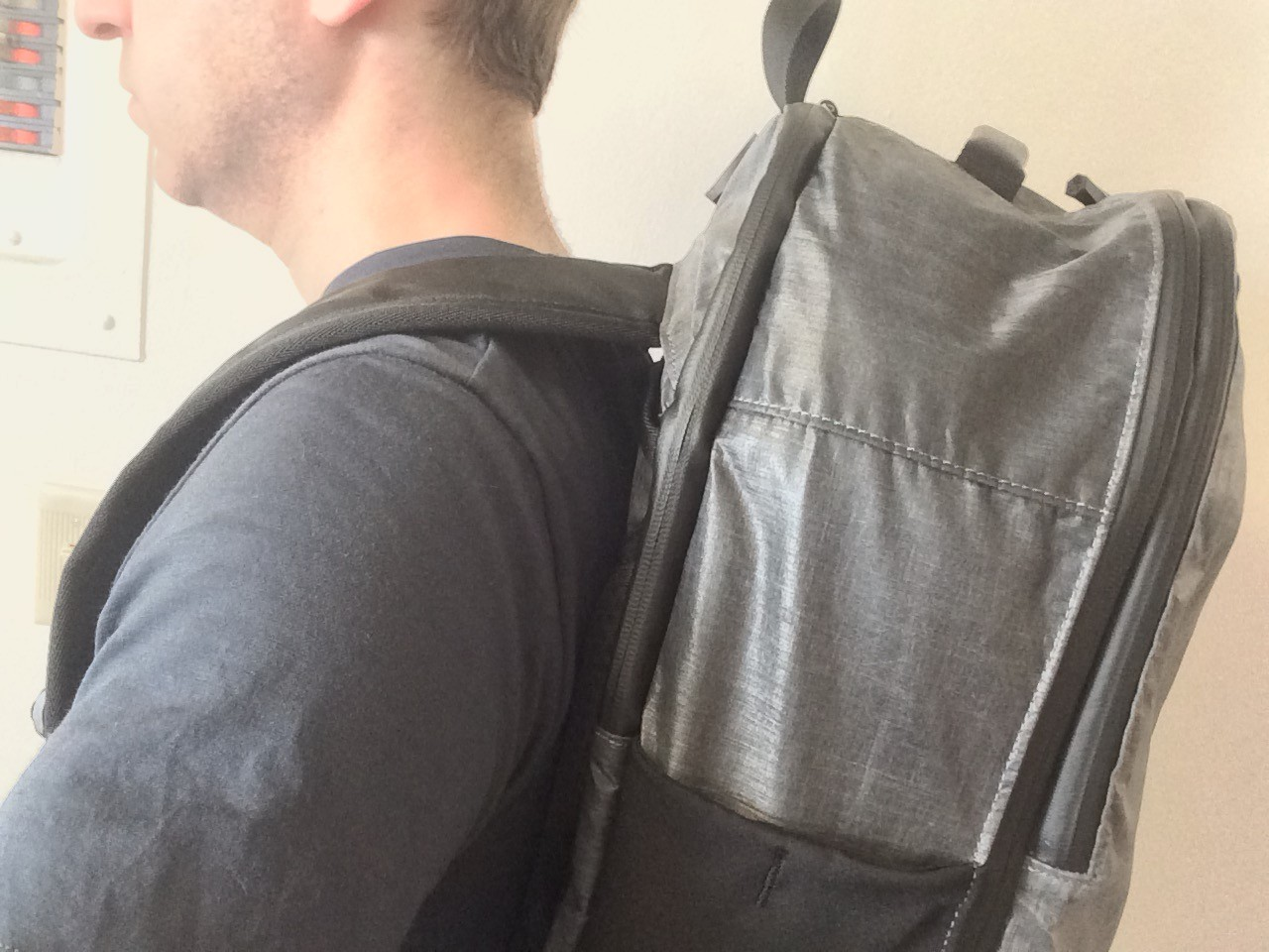 Tortuga Homebase Backpack worn