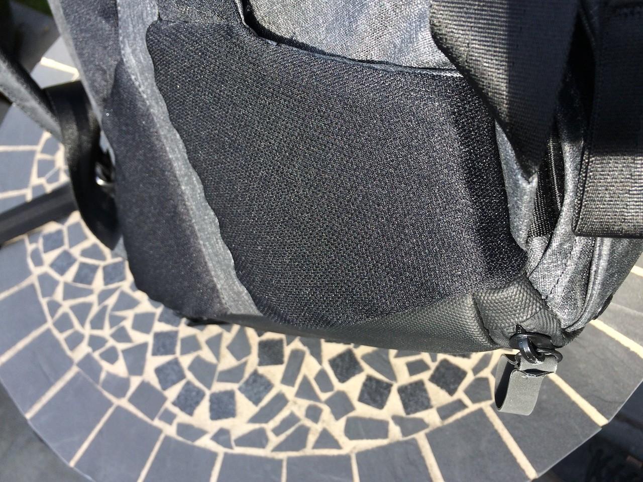 Peak Design Everyday Backpack lower back cushion