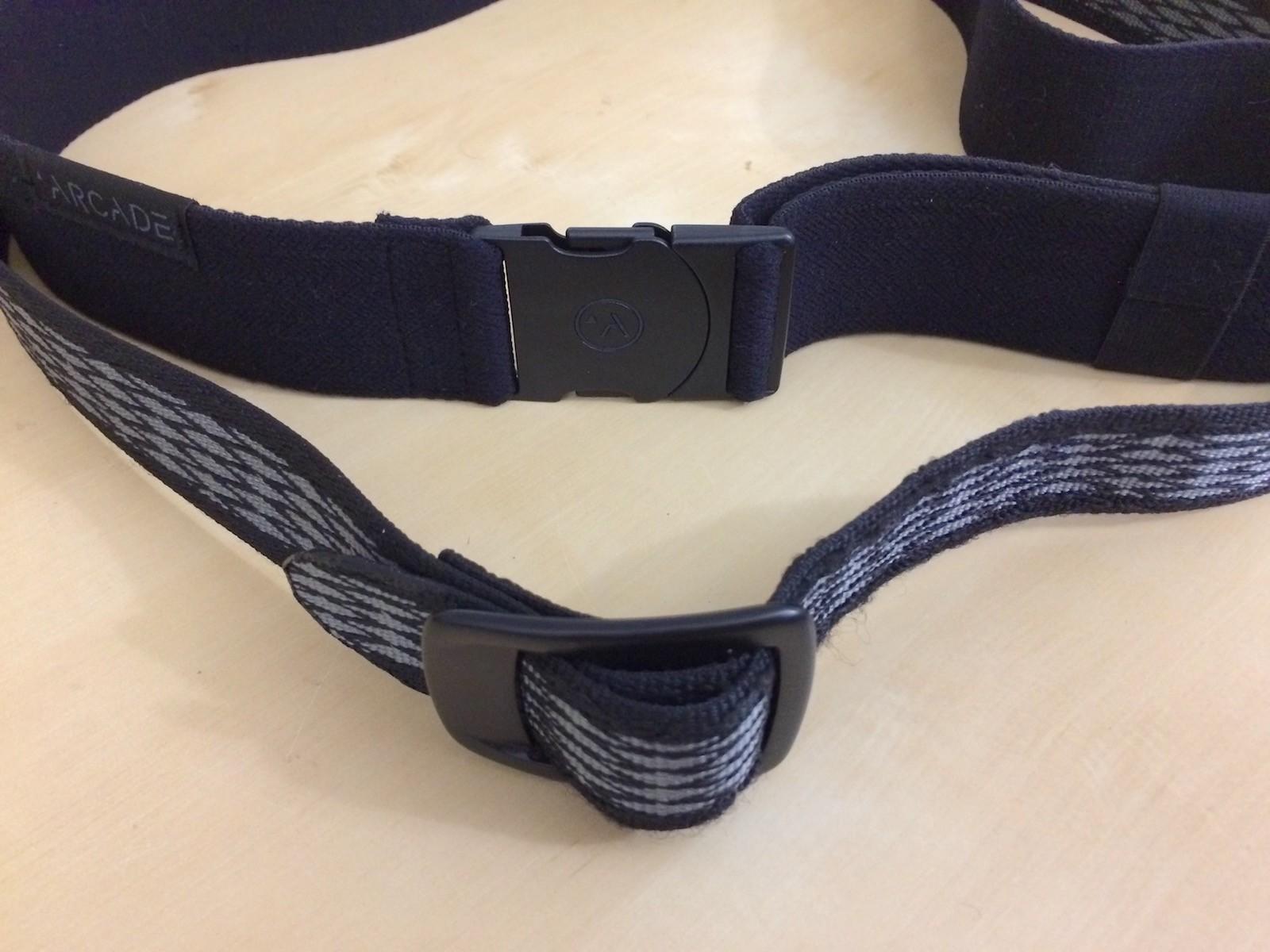 Arcade Belt vs webbing belt