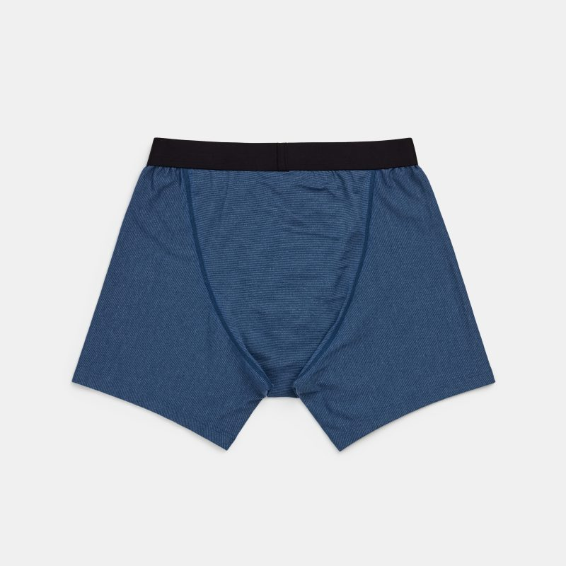 Wool and Prince boxer brief back